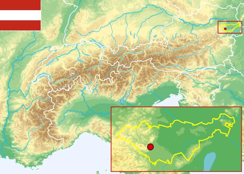 karte tirol österreich